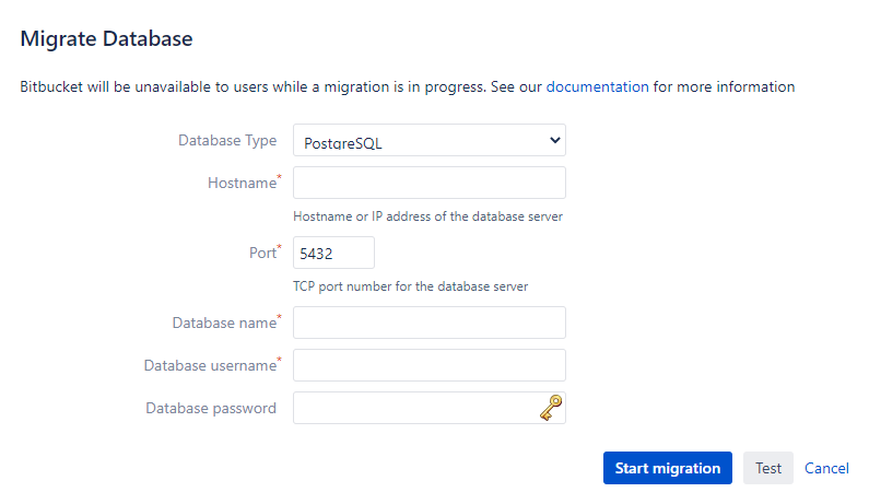 Migrate Database to PostgreSQL